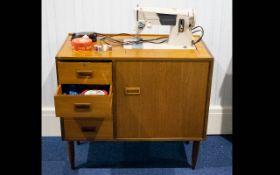 A Vintage Singer Sewing Machine In Origi