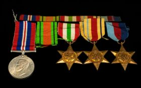 World War II Trio of Military Medals ( 4