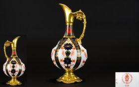 Royal Crown Derby Old Imari Solid Gold B