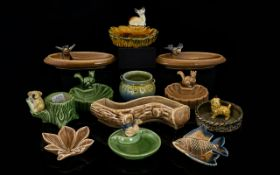 Wade Collection of Basket Dishes with Pu
