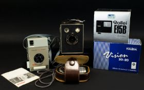 A Good Collection of Vintage Cameras and