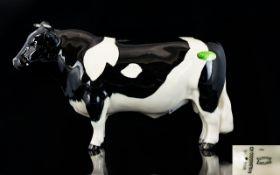 Beswick Cow Figure ' Friesian Bull ' Cod
