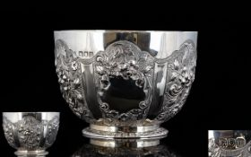 Edwardian - Nice Quality Solid Silver Em