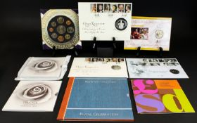 A Good Collection of United Kingdom Silver and Non Silver Coin Sets. Comprises 1/ Queen Elizabeth II