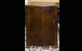 Early - Mid 20th Century Console/Hall Table Of rectangular form with three central drawers,