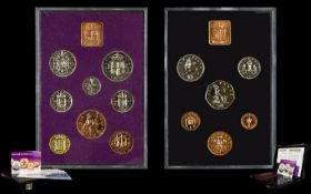 Royal Mint Issue Offered by The London Mint Office - The Last and First Proof Sets of British Pre-