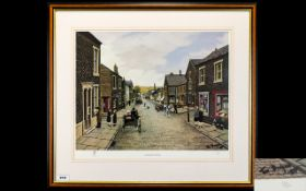 Tom Dodson 1910 - 1997 Pencil Signed by The Artist Ltd and Numbered Edition Colour Lithograph /