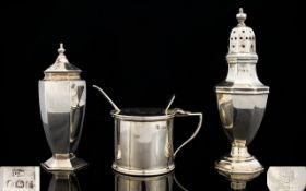 Collection of Silver Pieces ( 3 ) In Total. All Hallmarked and In Good Condition.