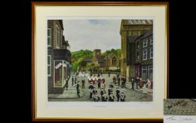 Tom Dodson 1910 - 1991 Artist Pencil Signed Ltd and Numbered Edition Colour Print. Titled ' The