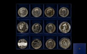 Royal Mint Mixed Collection of Proof Silver and Non Silver Uncirculated Mint Coins - Mostly Silver
