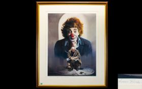 Lawrence Rushton Colour Lithograph Print pencil signed by the Artist. Limited edition titled '