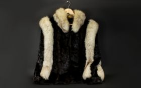 A Bespoke Vintage Arctic Fox Jacket Wonderful ladies hip length jacket, fashioned in ultra plush,