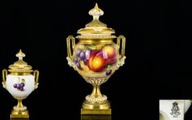 Royal Worcester - Signed Superb Quality