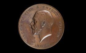 Bronze Prize Medallion - Date 1923, Prof
