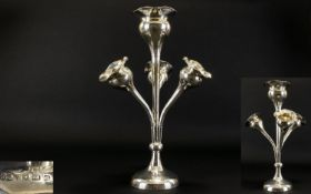 Art Nouveau - Superb Quality Tulip Shape