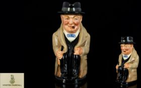 Royal Doulton Early Winston Churchill To
