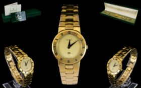 Gucci Vintage 3300 Gold Plated Watch Ana