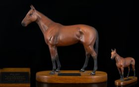 Beswick Connoisseur Horse Figure ' Mill