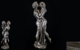 Heredity Bronzed Resin Figure by R. Came