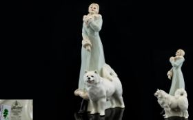 Royal Doulton Porcelain Figurine ' Refle