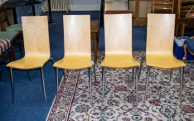 Phillipe Starck For Driade Four Olly Tango Chairs Classic stacking chairs designed in 1994 by the