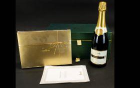 Harrods Champagne & Truffles Presentation Chest Harrods Blac de Blancs N.