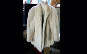 A Vintage Blonde Mink Jacket Very good condition,