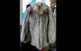 Fox Fur Ladies Jacket fully lined in polysatin.