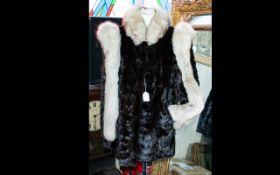 A Bespoke Vintage Arctic Fox Jacket Wonderful ladies hip length jacket, fashioned in ultra plush,