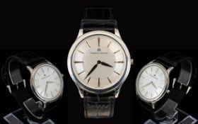 Maurice Lacroix - Swiss Made Stainless Steel Cased Quartz Gentleman's Wristwatch.