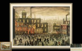 Laurence Stephen Lowry 1887-1976 Artist Signed Ltd and Numbered Colour Lithograph.