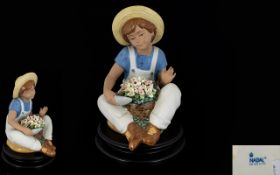 Nadal Lladro Style Large and Impressive