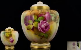 Royal Worcester - Signed and Hand Painte