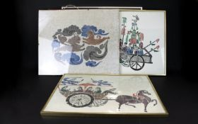 A Collection Of Decorative Oriental Prin