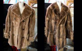 Three Fur Coats comprising 1. Musquash t