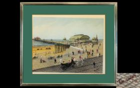 Tom Dodson Signed Print 'Victoria Pier'