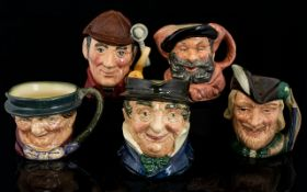 Royal Doulton Collection of Small Hand P
