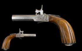 A Mid 19th Century French Boxlock Percus