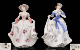 Royal Worcester Ltd and Numbered Pair of