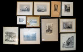 A Collection Of Prints And Etchings Elev