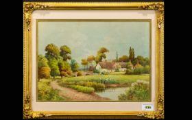 F.H.Tyndale (fl.1900-1900) Watercolour,