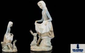Lladro Handpainted Porcelain Figure 'Rab