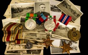 WWII Interest A Set Of Four Military Med