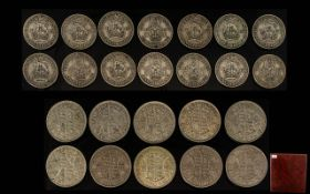 Large Coin Album of United Kingdom Coina