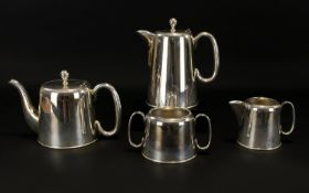 Plated Tea And Coffee Set Of plain form