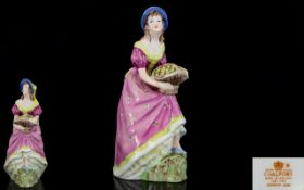 Coalport Early Period Signed Handpainted