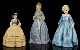 Royal Worcester Hand Painted Figurines (
