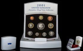 Royal Mint United Kingdom 2001 Executive