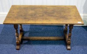 An Oak Coffee Table By Bath Easton And C