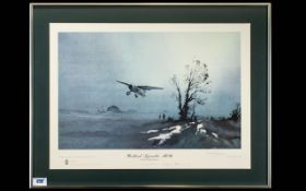 Denis Pannett Pencil Signed by the Artist Ltd and Numbered Edition Colour Lithograph - Titled '